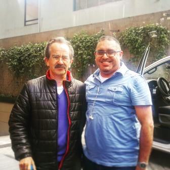 With Jorge Cordona Alzate, editor-in-chief, El Espectador
